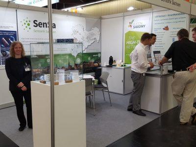 Silicon Saxony präsentierte Sensorik Sachsen (SenSa) auf der Sensor + Test in Nürnberg