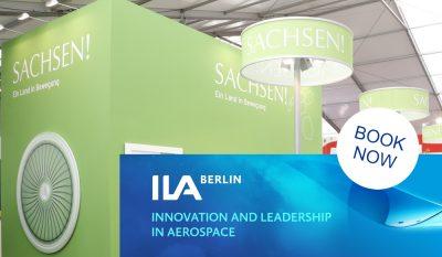 ILA 2020 mit dem Gemeinschaftsstand Sachsen @ Berlin ExpoCenter Airport | Schönefeld | Brandenburg | Deutschland