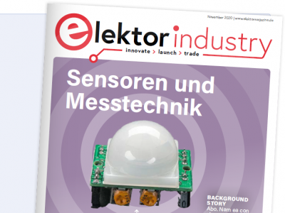 Exklusives Angebot für Artikel in Elektor Industry