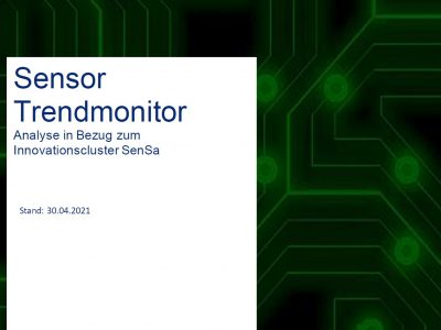 Der SenSa Sensor Trendmonitor 2021 ist online